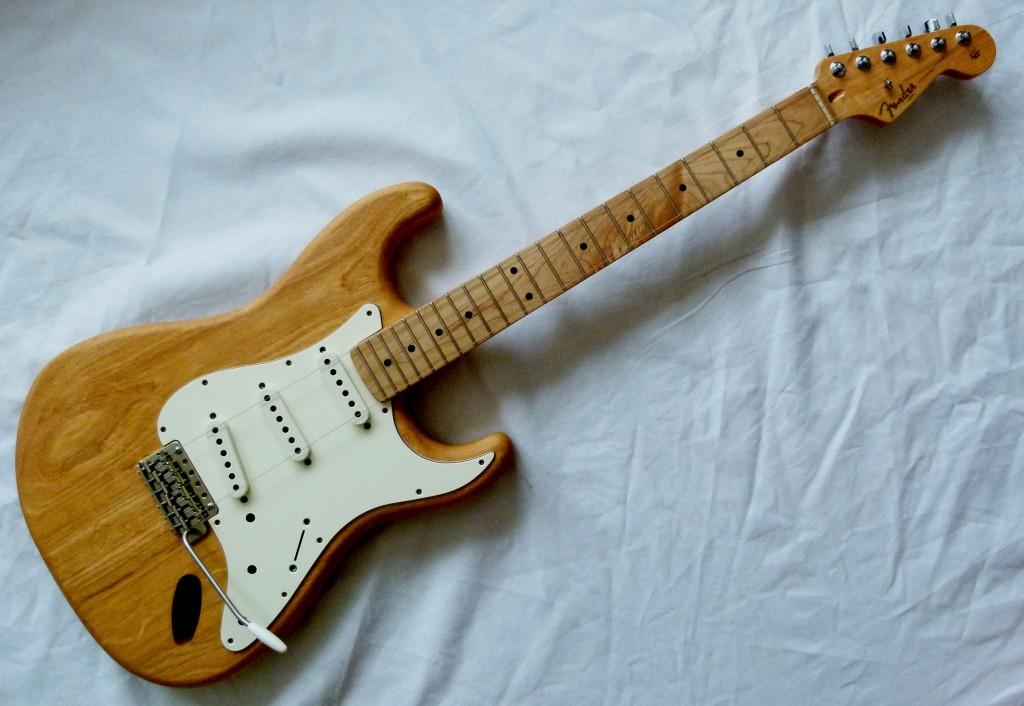 Choix du pickguard d'une Stratocaster
