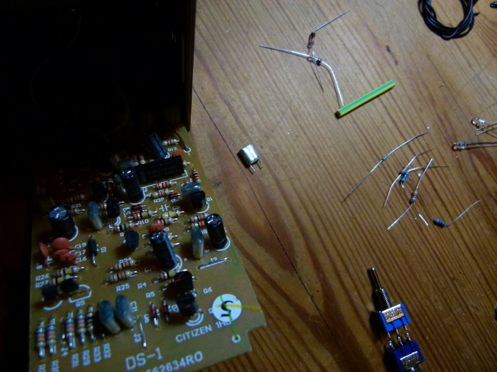 Boss DS-1 - Remplacement des composants