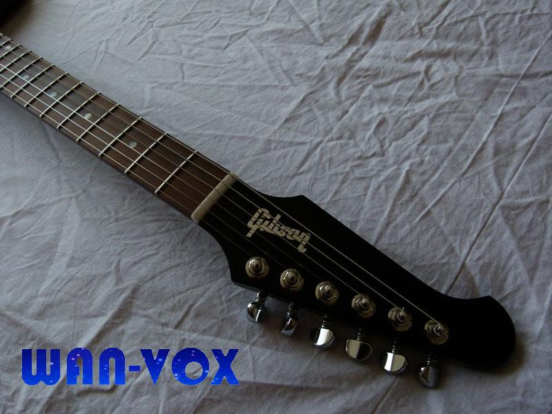 "Gibson Firebird Studio 70's Tribute - Tête ""reverse"""