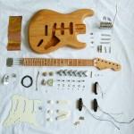 Stratocaster en picèes détachées