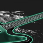 Gibson Firebird Studio 70's Tribute on the moon